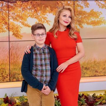 Тіна Кароль із сином, Сніданок з 1+1