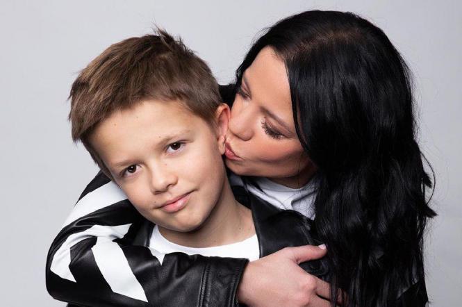 ірина горова з сином