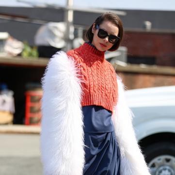 свитер шуба