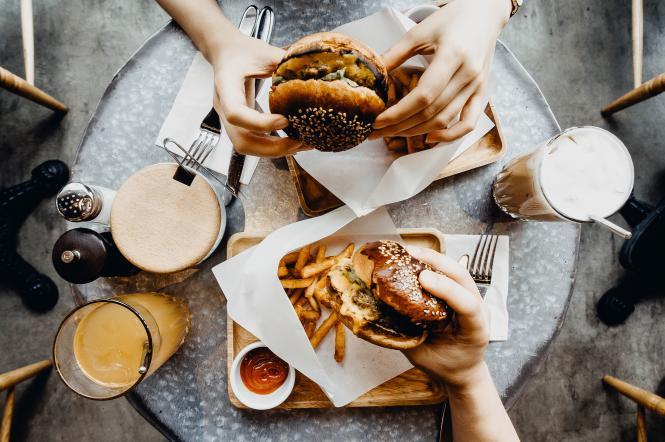 бургеры, фаст-фуд, еда