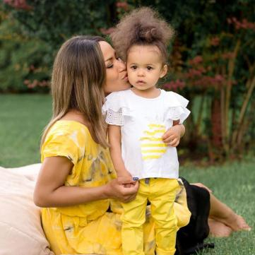 Гайтана з донькою Ніколь