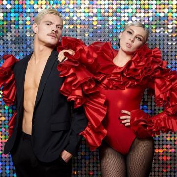 Харизматичный партнер MARUV с «Танців з зірками» снялся в ее новом клипе (видео)