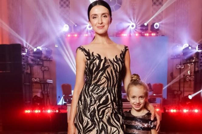 Валентина ХАмайко с дочкой