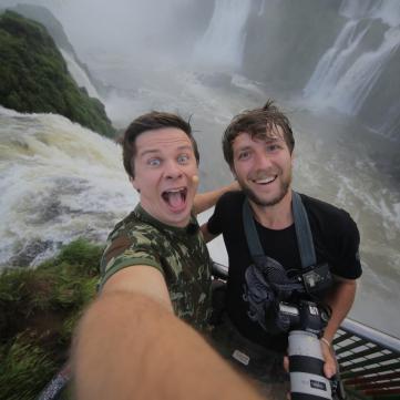 Дмитрий Комаров и Александр Дмитриев в Бразилии