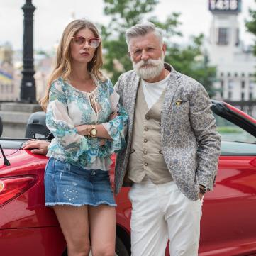 Станіслав Боклан та Дар'я Петрожицька