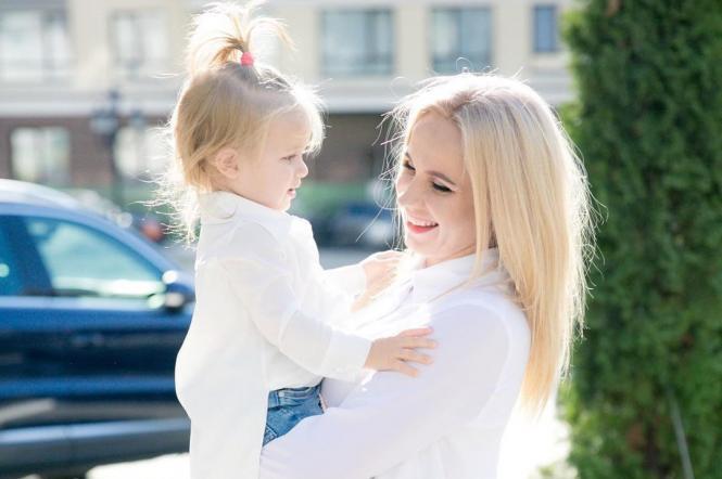 Лілія Ребрик із донькою Поліною
