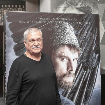 """Василь Шкляр на показі фільму """"Чорний ворон"""""""