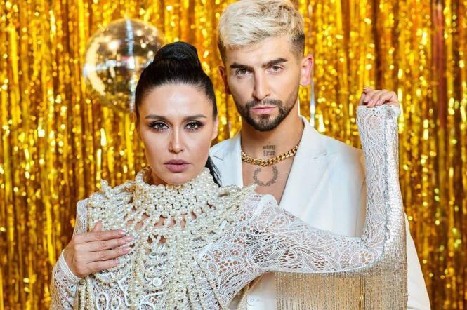 Людмила Барбир и Дмитрий Жук