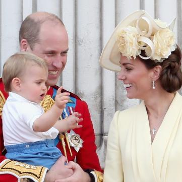 кейт міддлтон і принц луї і вільям