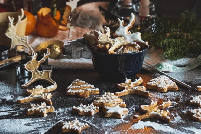 печенье, рождество