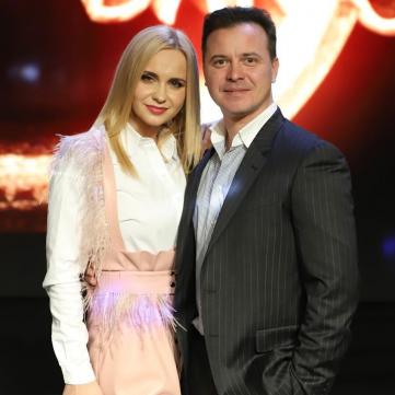 Лілія Ребрик з чоловіком