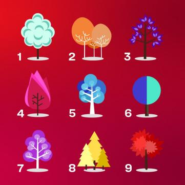 Психологический тест с деревьями