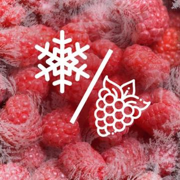 як заморозити малину цілою