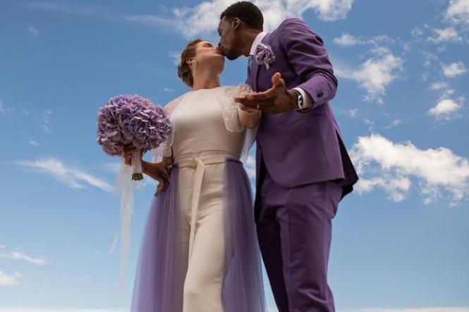 Элина Свитолина свадебное платье