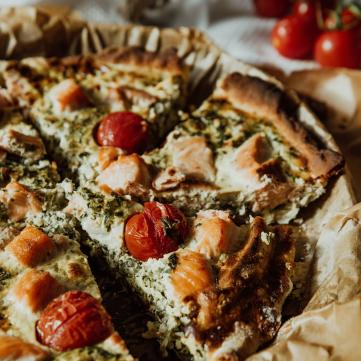 рецепт відкритого пирога