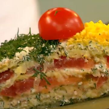 кабачковий торт