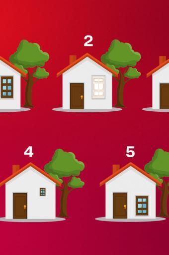 психологічний тест з будинками