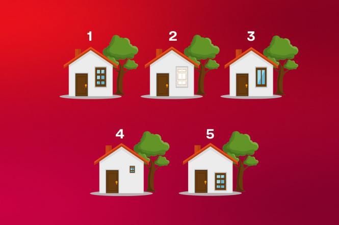 Психологический тест с домами