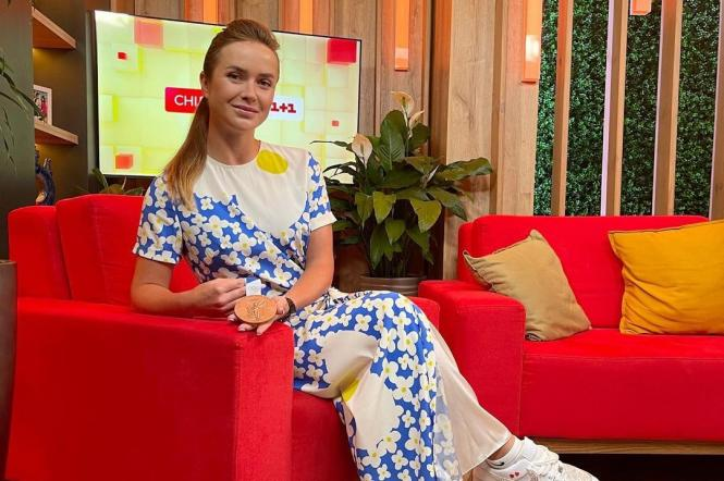 Элина Свитолина Сниданок