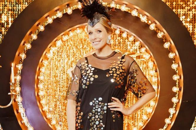 Катерина Осадчая на презентации нового сезона Танцы со звездами