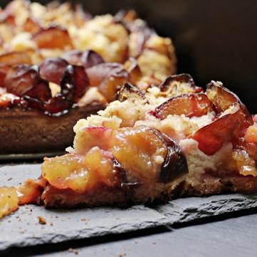 рецепт приготовления сливового пирога
