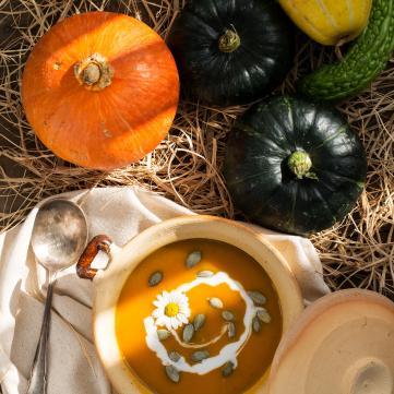 рецепт приготування крем-супу з гарбуза