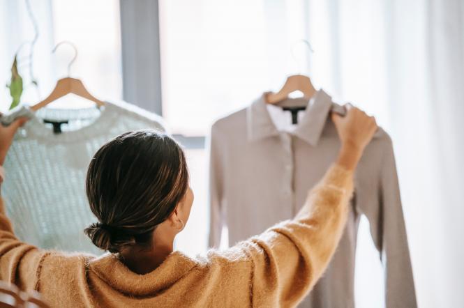 женщина одежда