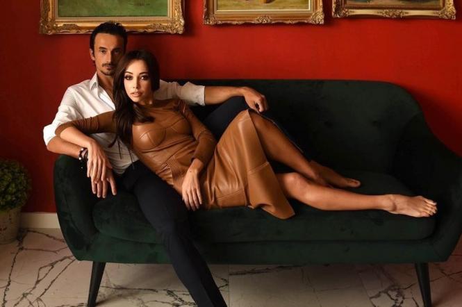 Катерина Кухар з чоловіком
