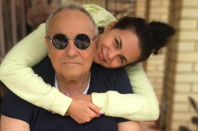 Настя Каменских и ее папа