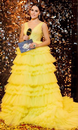 Иванна Онуфрийчук платье