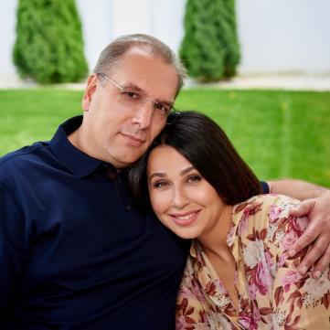 Мосейчук с мужем