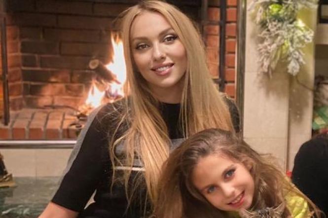 Оля Полякова та її донька