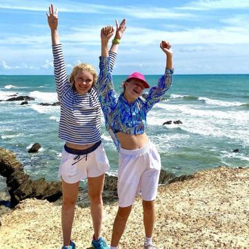 Лидия Таран и её дочка