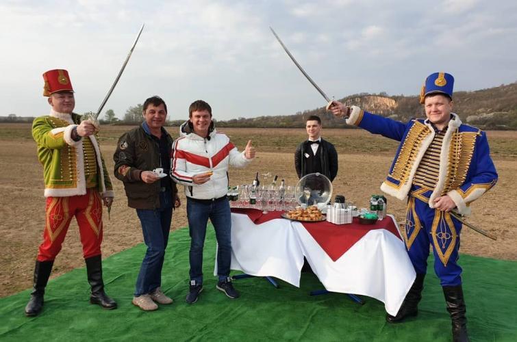Дмитро Комаров, рекордний політ