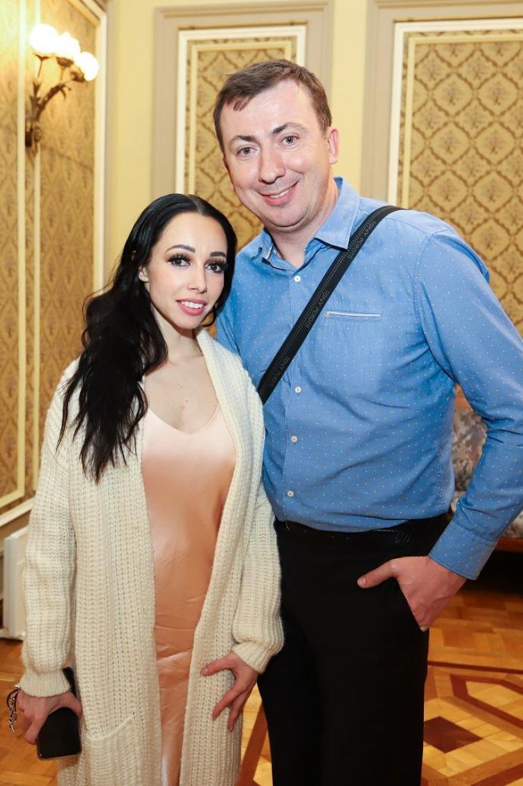 Катерина Кухар та Валерій Жидков