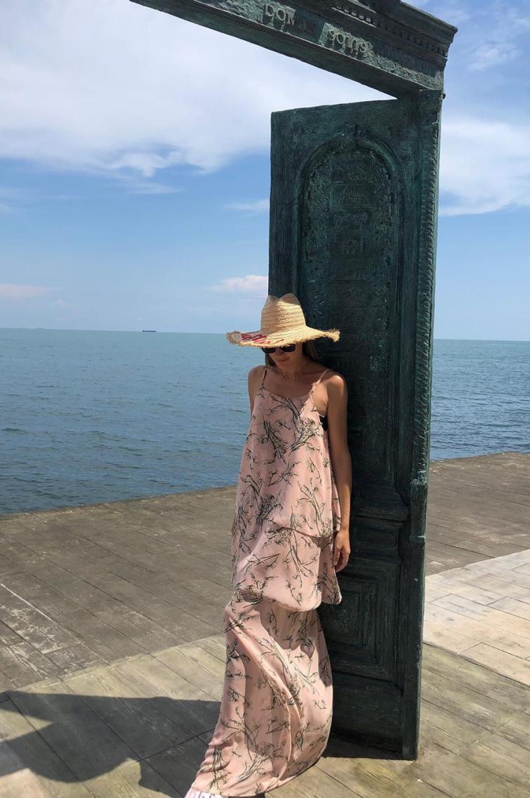 Катя Осадча на морі