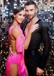 Анна Різатдінова та Олександр Прохоров на Танцях з зірками
