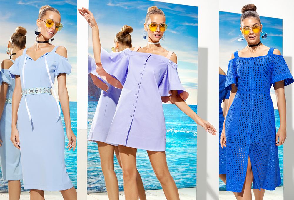 Сукні з фігурними вирізами й оголеними плечима притягують погляд до  декольте та шиї. Такий фасон буде трендом сезону весна-літо 2017 у жіночій  моді. 8b6ac33f112e5